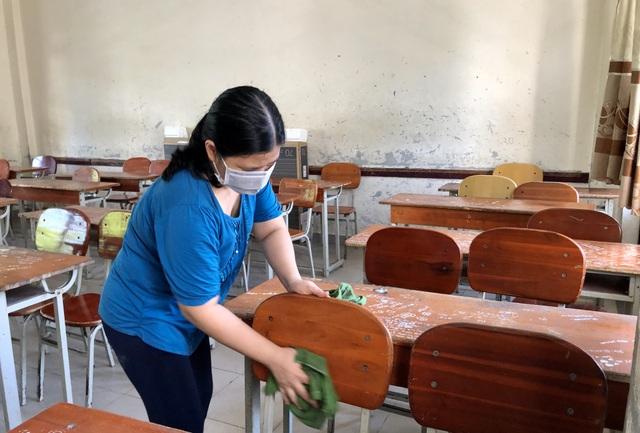 """Giáo viên Đà Nẵng """"vui như Tết"""" khi dọn sạch trường, lớp chờ đón học sinh - 7"""