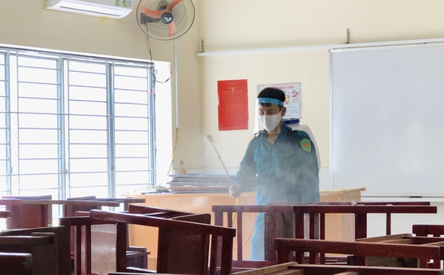 """Giáo viên Đà Nẵng """"vui như Tết"""" khi dọn sạch trường, lớp chờ đón học sinh - 2"""
