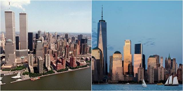 Diện mạo mới đường chân trời Manhattan 19 năm sau vụ khủng bố 11/9 - 1