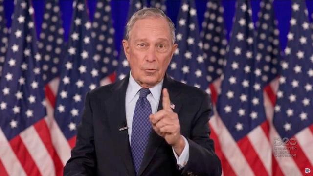 Tỷ phú Bloomberg tính chi 100 triệu USD giúp ông Biden đánh bại ông Trump - 1