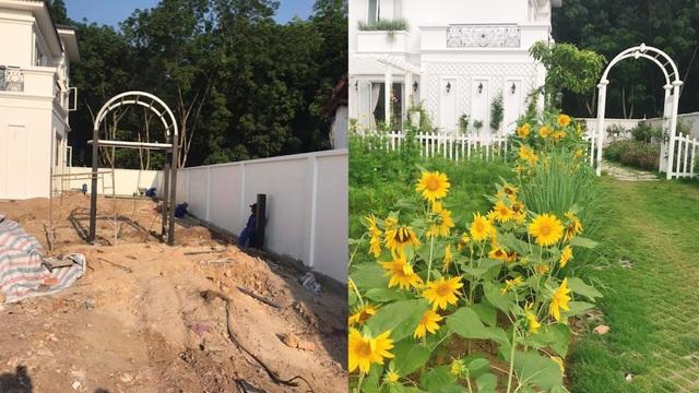 Biệt thự nhà vườn ngập tràn các loại hoa của gia đình ở Bình Dương - 3