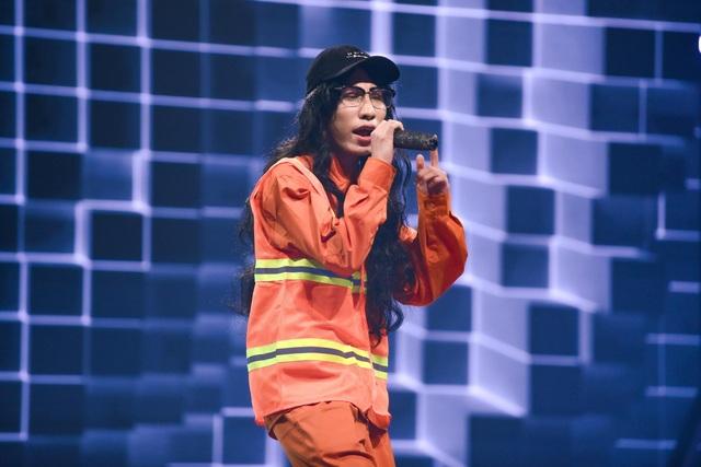 """""""Nổi da gà"""" thí sinh King of Rap làm mới hit của diva Hồng Nhung, Bằng Kiều - 4"""