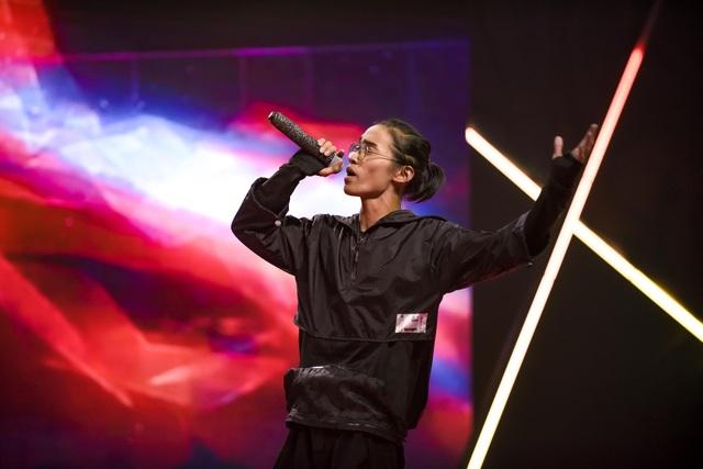 """""""Nổi da gà"""" thí sinh King of Rap làm mới hit của diva Hồng Nhung, Bằng Kiều - 5"""