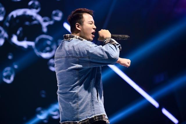 """""""Nổi da gà"""" thí sinh King of Rap làm mới hit của diva Hồng Nhung, Bằng Kiều - 6"""
