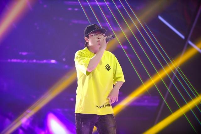 """""""Nổi da gà"""" thí sinh King of Rap làm mới hit của diva Hồng Nhung, Bằng Kiều - 9"""