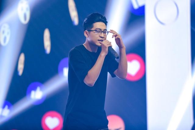 """""""Nổi da gà"""" thí sinh King of Rap làm mới hit của diva Hồng Nhung, Bằng Kiều - 11"""