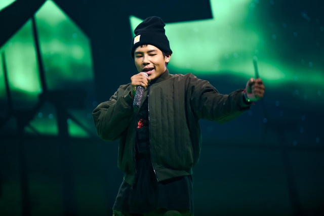 """""""Nổi da gà"""" thí sinh King of Rap làm mới hit của diva Hồng Nhung, Bằng Kiều - 12"""