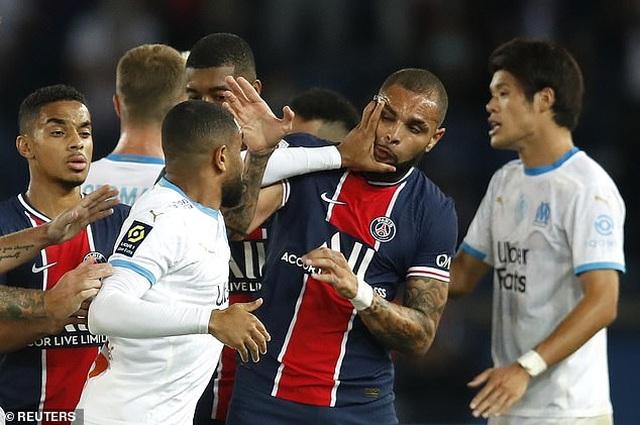 Neymar và 4 cầu thủ nhận thẻ đỏ sau màn hỗn chiến ở trận PSG-Marseille - 8