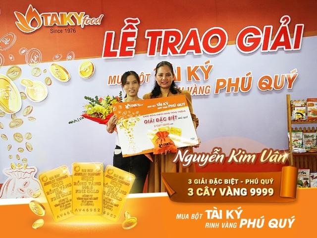 Hơn 8 cây vàng 9999 dành cho khách hàng MUA BỘT TÀI KÝ- RINH VÀNG PHÚ QUÝ  - 1
