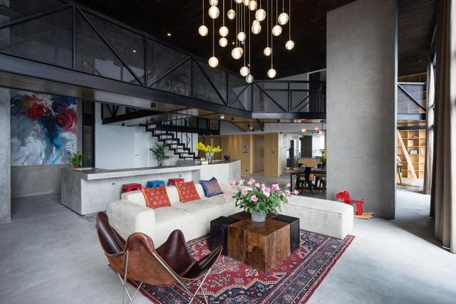 Chung cư rộng 350m2 như trung tâm giải trí thu nhỏ của gia đình ở Hà Nội - 2