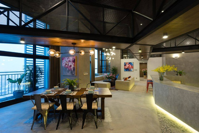 Chung cư rộng 350m2 như trung tâm giải trí thu nhỏ của gia đình ở Hà Nội - 3
