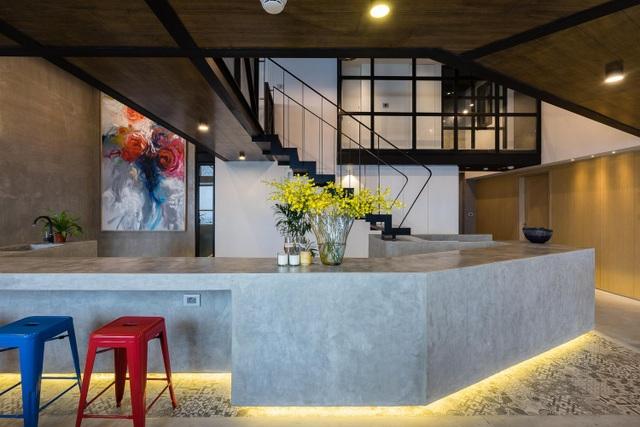 Chung cư rộng 350m2 như trung tâm giải trí thu nhỏ của gia đình ở Hà Nội - 4