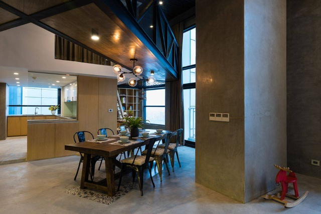 Chung cư rộng 350m2 như trung tâm giải trí thu nhỏ của gia đình ở Hà Nội - 6