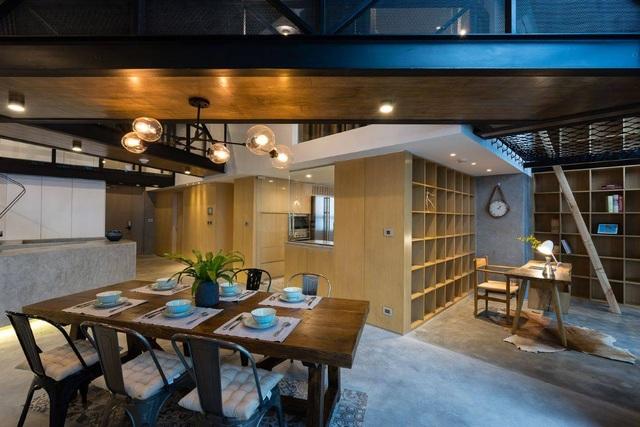 Chung cư rộng 350m2 như trung tâm giải trí thu nhỏ của gia đình ở Hà Nội - 7
