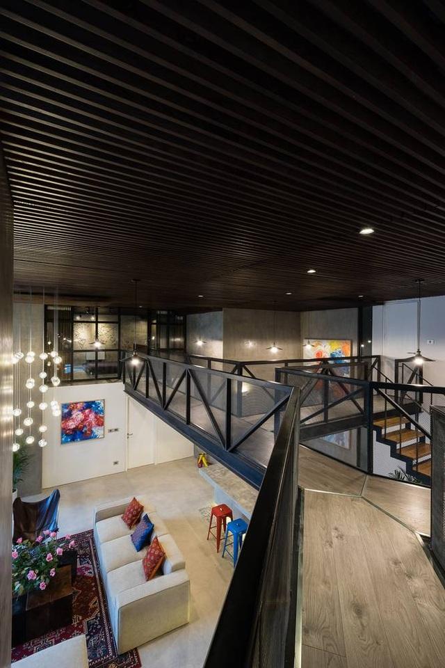 Chung cư rộng 350m2 như trung tâm giải trí thu nhỏ của gia đình ở Hà Nội - 10