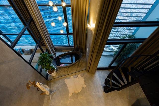 Chung cư rộng 350m2 như trung tâm giải trí thu nhỏ của gia đình ở Hà Nội - 13