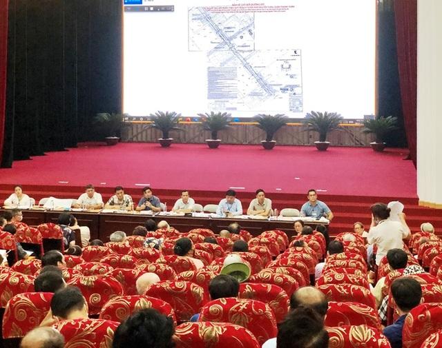 Cải tạo, mở rộng tuyến phố Nguyễn Tuân - 1