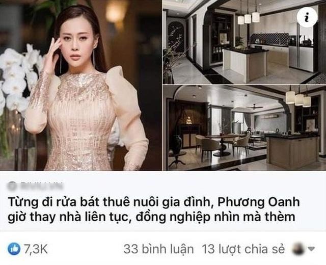 """Phương Oanh """"tặng 10 tỷ đồng"""" ai tìm được nơi cô từng… """"rửa bát thuê"""" - 1"""
