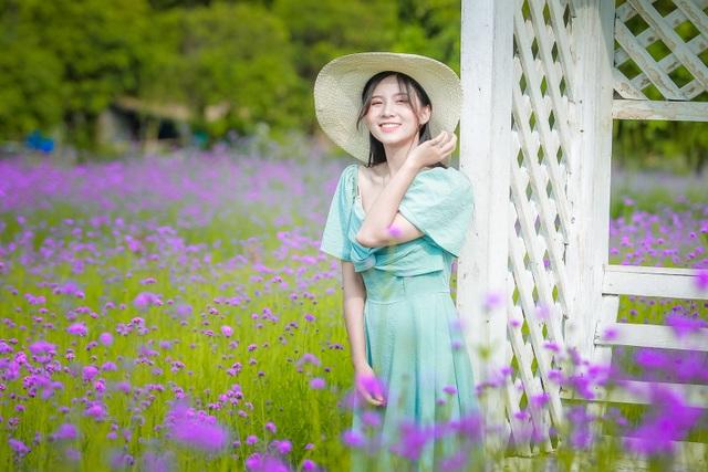 Hà Nội: Rủ nhau check-in với cánh đồng oải hương thảo đẹp như trời Tây - 9