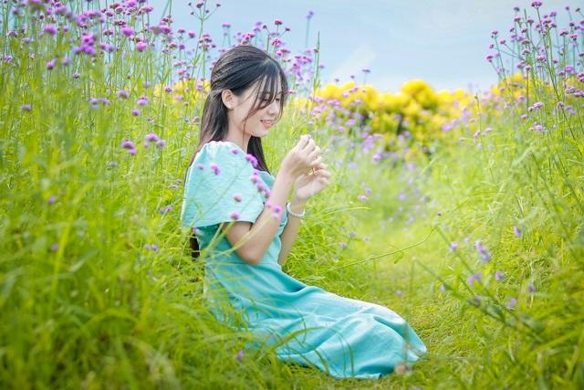 Hà Nội: Rủ nhau check-in với cánh đồng oải hương thảo đẹp như trời Tây - 6