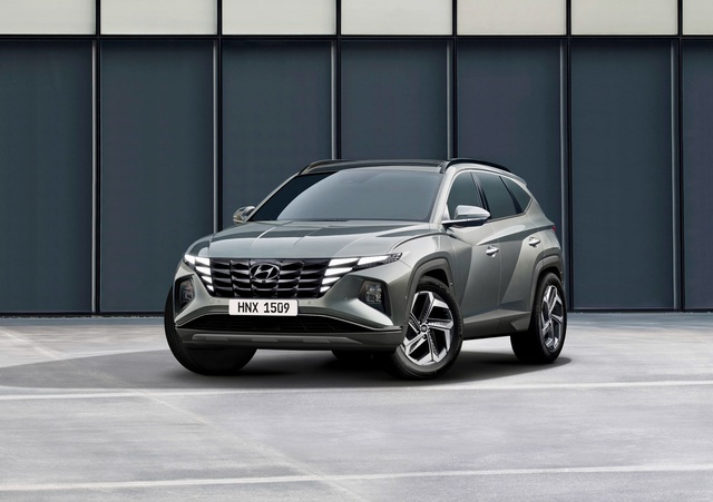Hyundai Tucson 2021 launched in a completely strange appearance - 14
