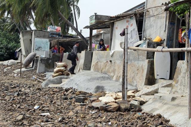 Đầu tư kè biển gần 22 tỷ đồng bảo vệ dân sau phản ánh của báo Dân trí - 2