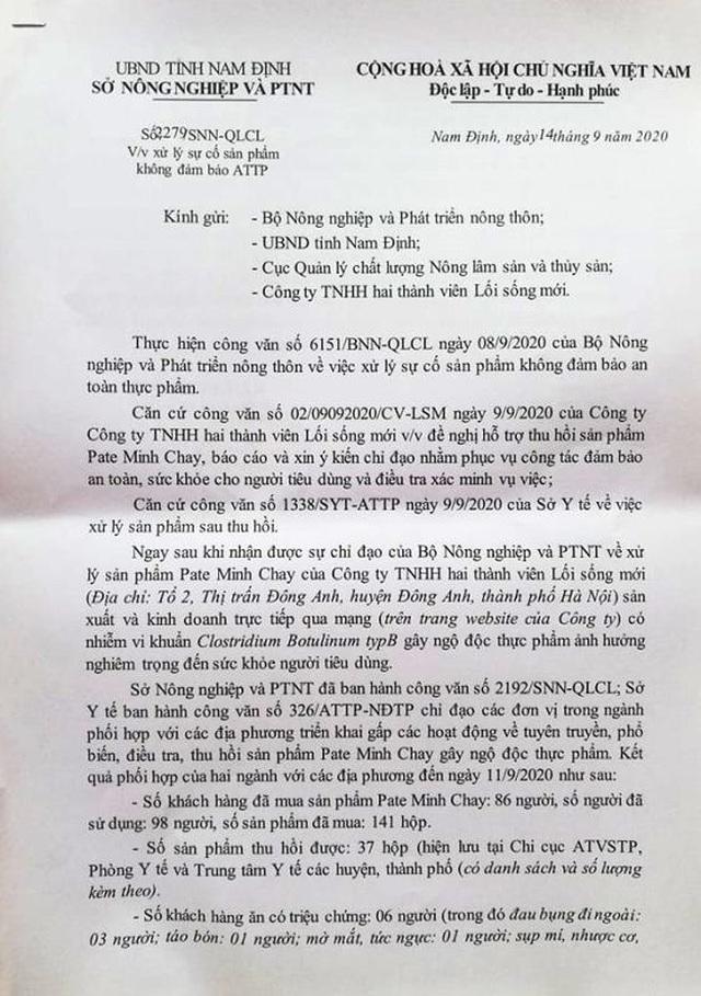 Vụ pate Minh Chay: Các địa phương ghi nhận nhiều người có biểu hiện ngộ độc - 3