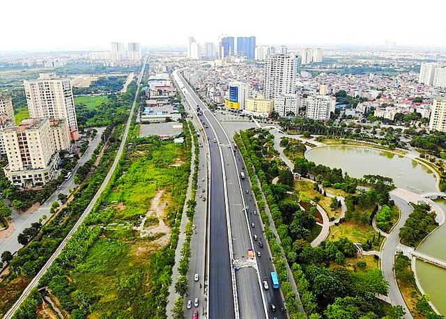 """""""Vành đai xanh"""" nâng bước bất động sản vùng lõi Thủ đô - 1"""
