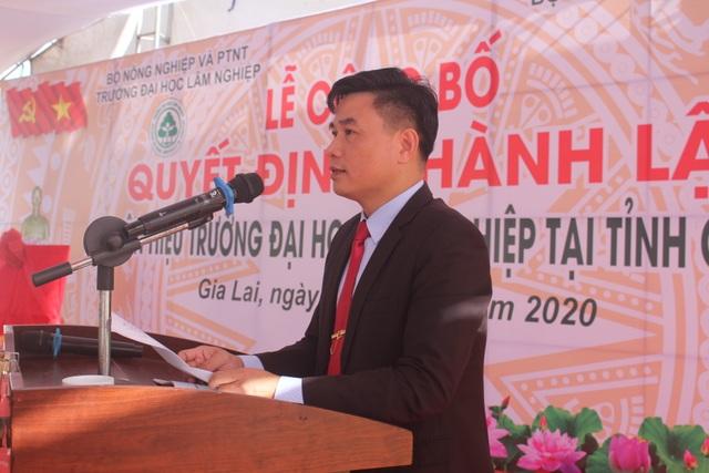 Công bố Quyết định thành lập Phân hiệu Đại học Lâm nghiệp tại tỉnh Gia Lai - 7
