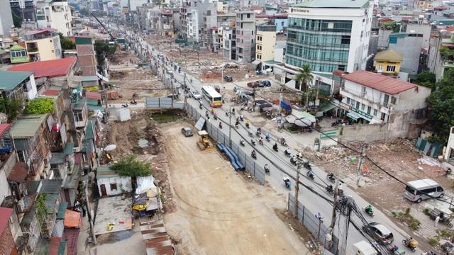 Hà Nội: Đường vành đai 2 mở rộng, giá đất mặt phố leo thang từng ngày - 1