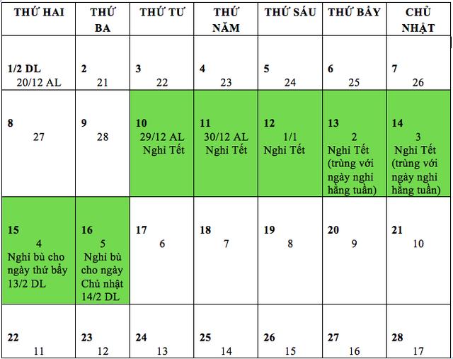 Lịch nghỉ Tết Tân Sửu: Bộ LĐ-TBXH đề xuất nghỉ trước Tết 2 ngày - 1