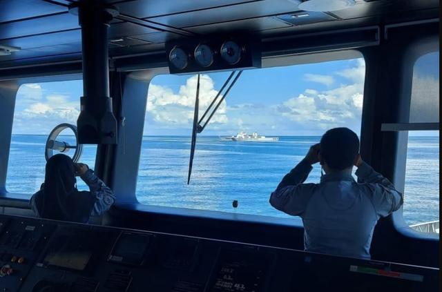 """Biển Đông """"nóng"""" vụ Indonesia đuổi tàu hải cảnh Trung Quốc - 1"""