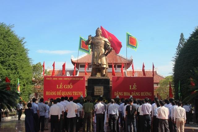 Bình Định: Tổ chức Lễ giỗ Hoàng đế Quang Trung - 1