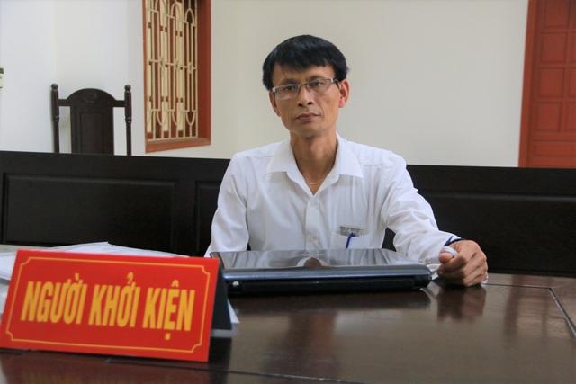 """Ninh Bình: Hoãn phiên tòa vụ người mang """"án oan"""" HIV kiện Giám đốc Sở Y tế - 1"""