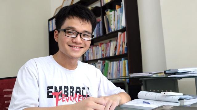 Thủ khoa 30 điểm tuyệt đối khối B ở Đà Nẵng: Mơ trở thành bác sĩ từ bé - 1