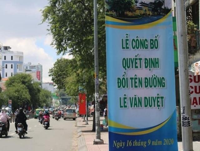 TPHCM chính thức đổi tên đường Đinh Tiên Hoàng thành Lê Văn Duyệt - 9