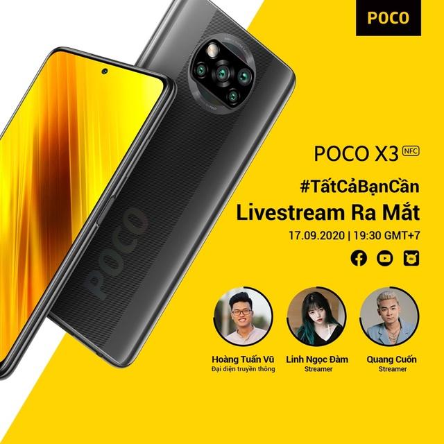 POCO X3 NFC Smartphonedành cho game thủ sẽ ra mắt tại Việt Nam hôm nay - 4