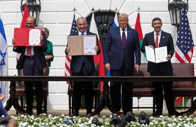 Israel - UAE - Bahrain ký thỏa thuận lịch sử tại Nhà Trắng - 1