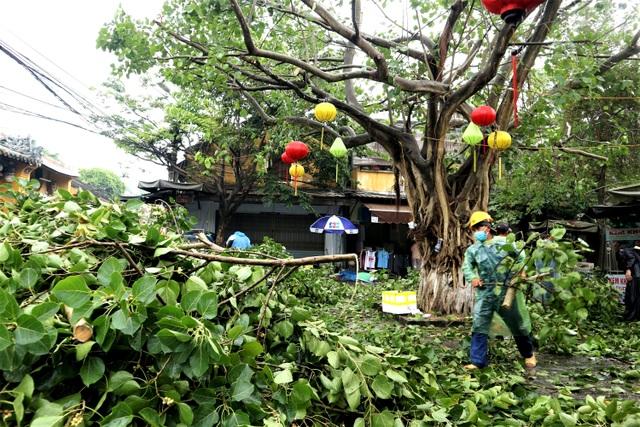 Phố cổ Hội An bảo vệ di tích trước khi bão đổ bộ - 12