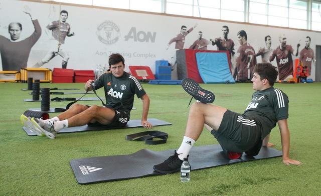Man Utd tích cực luyện công chuẩn bị cho trận gặp Crystal Palace - 5