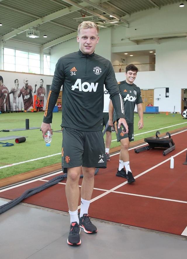 Man Utd tích cực luyện công chuẩn bị cho trận gặp Crystal Palace - 9