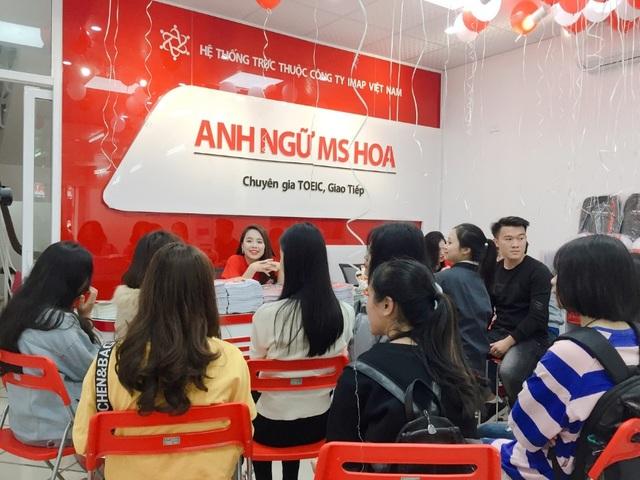Anh ngữ Ms Hoa - Trung tâm luyện thi TOEIC chất lượng tại Hà Nội - 1
