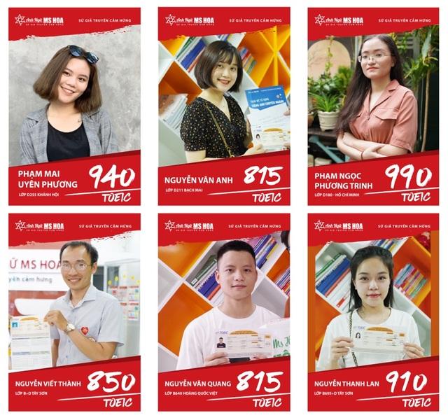 Anh ngữ Ms Hoa - Trung tâm luyện thi TOEIC chất lượng tại Hà Nội - 2