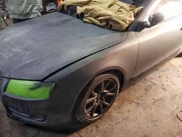 Màn hồi sinh nuột nà khó tin của một chiếc Audi A5 bỏ đi - 12