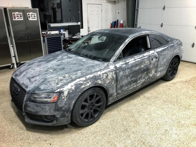Màn hồi sinh nuột nà khó tin của một chiếc Audi A5 bỏ đi - 1