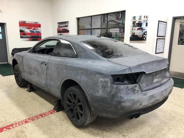 Màn hồi sinh nuột nà khó tin của một chiếc Audi A5 bỏ đi - 27