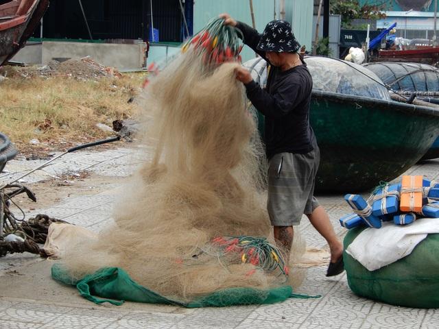 Ngư dân Đà Nẵng hối hả đưa tàu thuyền lên bờ tránh bão số 5 - 8