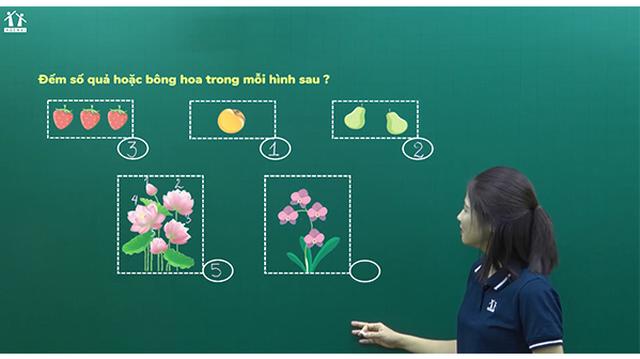 """""""Phát triển năng lực Toán 1""""- Khóa học online dành cho học sinh lớp 1 - 1"""
