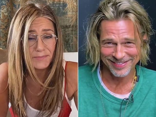 Lần đầu tiên Brad Pitt và Jennifer Aniston hợp tác sau ly hôn - 1