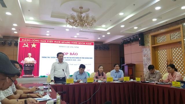 Đại hội Đảng bộ tỉnh Quảng Ninh diễn ra trong các ngày 25 - 27/9 - 1